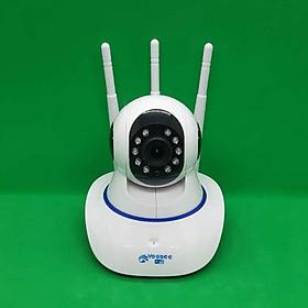 Camera wifi IP app YOOSEE 3 râu bắt sóng mạnh hình ảnh HD 720P  thích hợp dùng trong nhà có thể xem được mọi lúc mọi nơi-Hàng chính hãng
