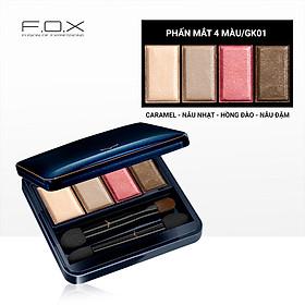 [TAIWAN] Phấn Mắt 4 Màu F.O.X Eyeshadow Palette 6.5g