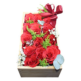 Hộp Hoa Gói trọn chân tình - 3606