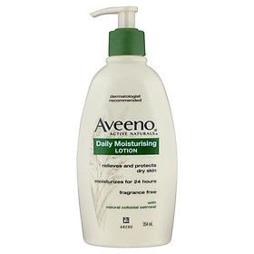Aveeno Active Naturals Daily Moisturising Lotion Fragrance Free 354mL