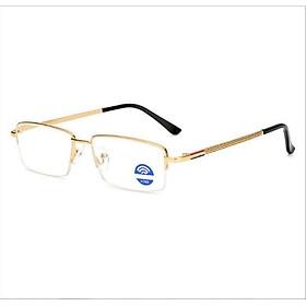 Kính lão thị viễn thị trung niên titan cao cấp màu gold sang trọng cực sáng và rõ HTTPKV5PPK