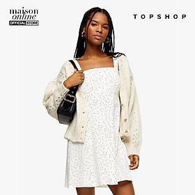 TOPSHOP -  Đầm mini hai dây Black And White Strappy 10M27SMON-590