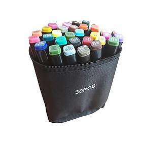 Bộ Bút tô màu Marker Touch 30/36/40/60/80 cao cấp kèm túi vải