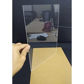 Bộ 5 tấm nhựa mica trong suốt 20x30 cm