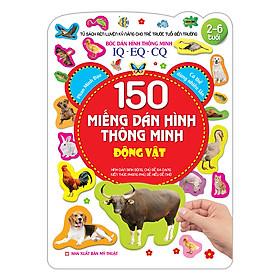 150 Miếng Dán Hình Thông Minh - Động Vật IQ-EQ-CQ