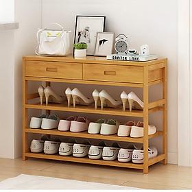 Tủ giày gỗ tre