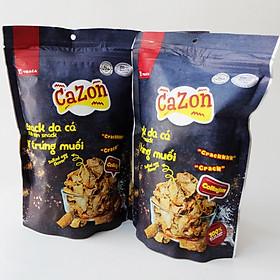 Snack da cá Ba Sa vị trứng muối VIDACA ( 40 Gram) - Hàng chính hãng
