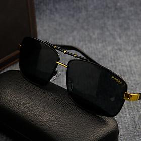 Kính mát nam PAGINI KI550 cao cấp đi xe ngày và đêm – Tặng hộp kính và khăn lau
