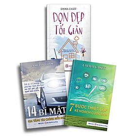 Bộ 3 Cuốn Dọn Dẹp Tối Giản + 14 bí mật gia tăng tài chính mỗi ngày + 7 bước thiết lập kế hoạch cuộc đời