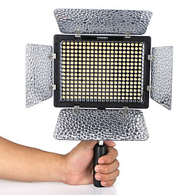 Đèn Led Điều Chỉnh Nhiệt Độ Điều Khiển IR Yongnuo 3200k-5500k Dòng YN-300 II LED Cho DSLR Canon Nikon