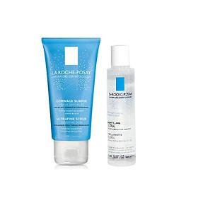 Bộ chăm sóc da Gel Làm Sạch Tẩy Da Chết Cho Da Nhạy Cảm - Ultra Fine Scrub Senitive Skin La Roche Posay (50ml) + Nước Tẩy Trang Dành Cho Da Nhạy Cảm La Roche 50ml