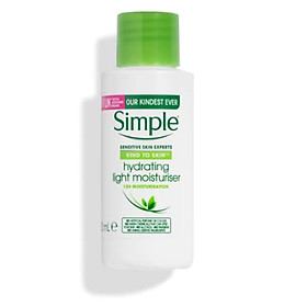 Kem dưỡng Simple Kind To Skin Hydrating Light Moisturizer - Thường 50ml