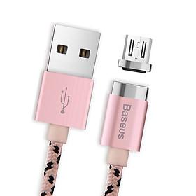 Dây Cáp Sạc Từ Tính Baseus Magnetic Cổng Giao Tiếp Lightning Cho iPhone / Micro USB Cho Android - Hàng Chính Hãng