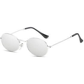 Women Ladies Small Oval Retro Vintage Style Rockabilly Sunglasses Eye Glasses DA