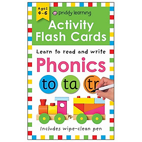 Wipe Clean Flash Cards: Phonics