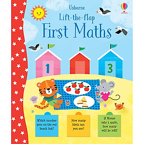 Sách Usborne Lift-the-Flap: First Maths