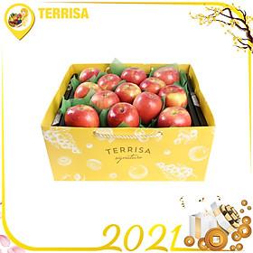 Hộp quà Tết TERRISA Signature Đoàn Viên 5 (Hộp 2.5 Kg - 13 Táo Fuji Mỹ)