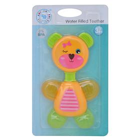 Miếng ngậm nướu hình gấu linh động cho bé.