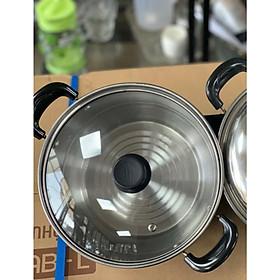 Nồi inox xuất Nhật 20cm - Nấu được bếp từ