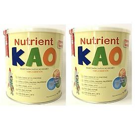 Combo 2 hộp Eneright Nutrient KAO (700g) - Sữa tăng chiều cao cho trẻ 1 – 6 tuổi