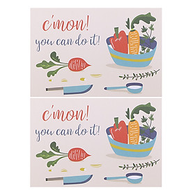 Combo 2 Thiệp Papermix - C'Mon! You Can Do It