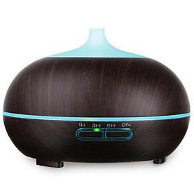 Máy khuếch tán bí ngô wifi thông minh kết nối app phun sương tạo ẩm lọc khí tạo hương xông tinh dầu Aramacs 550ml