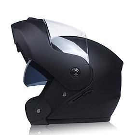 Mũ Bảo Hiểm Đua Xe Unisex Với Kính Bảo Hộ Kép
