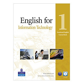 English for Information Technology 1: Course Book with CD-ROM