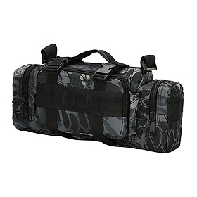 Waterproof Tactical Waist Bag Belt Fanny Pack Phone Molle Pouch Camping Hiking