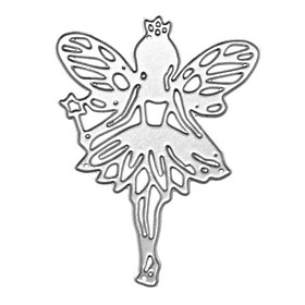 2019 NEW Fairy Themed Carbon Steel Cutting Die Stencil Die-Cut Template For Card Making Scrapbooking Decor DIY Craft Tools