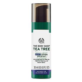 Sữa Dưỡng Da Ban Đêm The Body Shop Tea Tree (30ml)