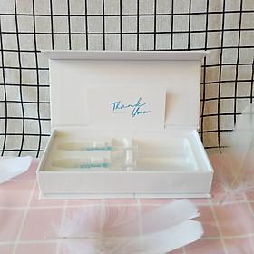 Combo 2 Gel làm trắng răng tại nhà Smilee - Tự làm trắng răng tại nhà an toàn chỉ 20 phút mỗi ngày - Răng trắng sau 7 ngày sử dụng   Sản phẩm nhập khẩu USA - Đạt chuẩn quốc tế ISO:22716 về nha khoa