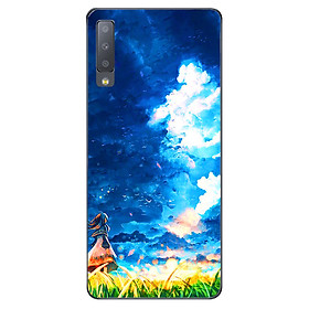 Ốp lưng cho Samsung Galaxy A7 2018  - Little Girl