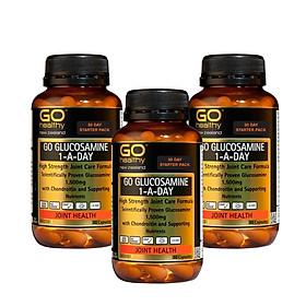 Combo 3 hộp viên uống bổ xương khớp Glucosamine 1-A-Day 1500mg