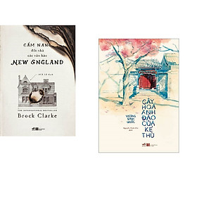 Combo 2 cuốn sách: Cẩm nang đốt nhà các văn hào + Cây hoa anh đào của kẻ thù