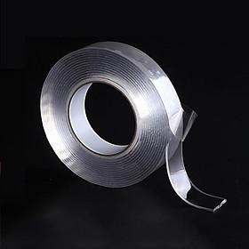Băng Keo Hai Mặt Trong Suốt Siêu Dính Magic Tape 30*2mm dài 3 mét