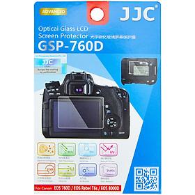 Kính cường lực cho màn hình máy ảnh Chống Xước, Chống Vấy Bẩn Và Chống Phản Chiếu JJC GSP-760D Canon 760D SLR