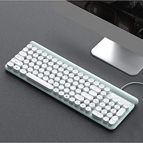 Bàn Phím Có Dây L4 dùng cho văn vòng, pc, laptop, tivi  các ký tự được in lụa thiết kế thời trang, chất lượng cao - Giao Ngẫu Nhiên