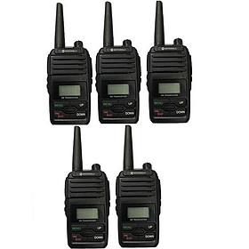 Bộ 5 bộ đàm Motorola GP6660 - Hàng Chính Hãng