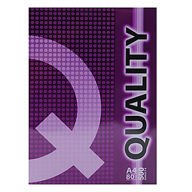 Giấy Photo A4 Quality DL 80gsm (500 Tờ)