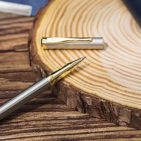 Bút Ký Tên Dạ Bi Kim Loại Phủ Sơn Bóng Cao Cấp B&J BJ002 dành cho doanh nhân, khẳng định đẳng cấp cá nhân, ngòi viết 0.5mm, thiết kế độc lạ
