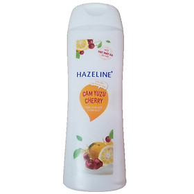 Sữa Tắm Hazeline Tẩy Tế Bào Chết Sáng Da Cam Yuzu Và Cherry (300g)