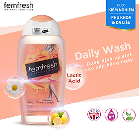 Dung Dịch Vệ SInh Phụ Nữ Femfresh Daily Intimate Wash 250ml ( Anh Quốc)