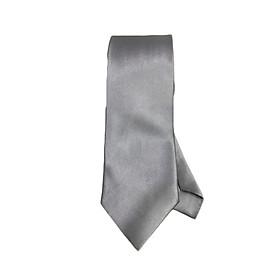 Cà vạt nam nữ trơn - bản 8cm CN04