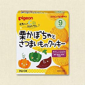 Bánh ăn dặm bí ngô, hạt dẻ, khoai lang – Nội địa Nhật Bản