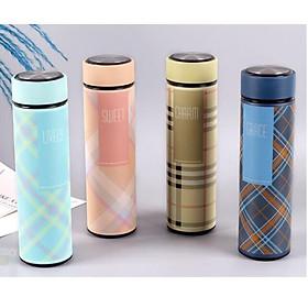 Hình đại diện sản phẩm Bình Giữ Nhiệt Caro Inox Hàn Quốc Nhiều Màu Xinh Xắn Cao Cấp