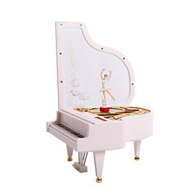 Hộp phát nhạc piano với vũ công múa bale