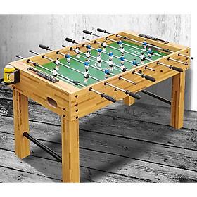 Bàn bi lắc Mini Adult Table 8 tay Màu vân gỗ - Model 2020 bằng gỗ kích thước size 121*61*790 cm nặng 21kg