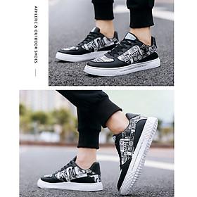 Giày nam sneaker thể thao họa tiết-8