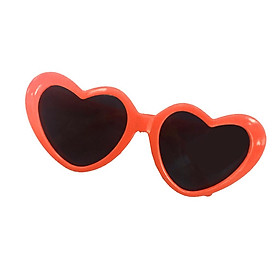 Pair of Heart Frame Glasses Sunglasses for 18'' American Dolls